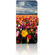 Huawei Mate 20 Pro Uniek Boekhoesje Tulpen