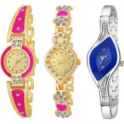 TRUE CHOICE NEW BRAND BEST LOOK AND SUPER SMART COMBO WATCH FOR WOMEN AND GIRL WITH 6 MONTH WARRNTY