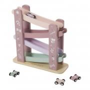 Little Dutch houten autobaan - roze