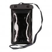 Bellatio Design Waterdicht telefoonhoesje voor alle telefoons zwart