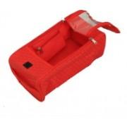 "Kuber Industries "" Multi purpose Kit,Shaving kit,Travelling Kit ,Shoe kit,Make Up Kit(Red)"