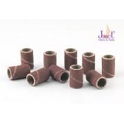 Pile cilindrice, duritate fina 180, set 10 buc., art. nr.: 10110