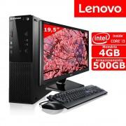 COMPUTADOR LENOVO CORE I3 4GB RAM HD 500GB LED 19 WIN10