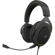 CORSAIR - HS60 PRO SURROUND Wired Stereo Gaming Headset - Black/Yellow