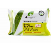 Dr. Organic Tea Tree Wet Wipes - 20 pz.