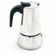 KM STAINLESS STEEL COFFEE MAKER / PERCOLATOR (PACK OF 6) 6 Cups Coffee Maker(STEEL)