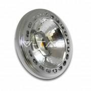 VTAC V-Tac Faretto spot led ar111 15w 12v chip sharp Vt-1110 sku 4257 luce bianco caldo 3000k