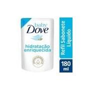 Sabonete Líquido Baby Dove Hidratação Enriquecida Refil 180 ML, Baby Dove