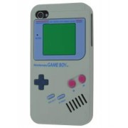 Nintendo Game Boy-style case for iPhone 4S/4 - Apple Soft Cover (Grey)