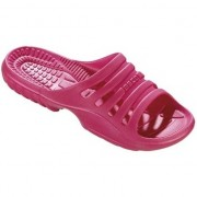 Beco Sauna/zwembad slippers roze voor dames 40 - Badslippers