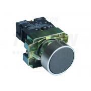 Buton simplu , negru NYGBA21 1×NO, 3A/240V AC, IP42