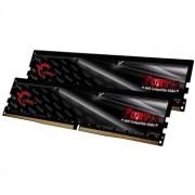 Memorie G.Skill Fortis Black 16GB (2x8GB) DDR4 2400MHz CL16 1.2V AMD Ryzen Ready Dual Channel Kit, F4-2400C16D-16GFT