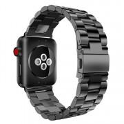 SERO Armband För Apple Watch I Rostfritt Stål, 42/44mm, Svart