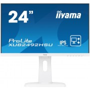 "Monitor IPS, IIYAMA 23.8"", ProLite XUB2492HSU-W1, 5ms, 50Mln:1, HDMI/DP, Speakers, FullHD"