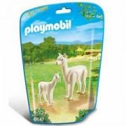 Комплект Плеймобил - лама с малко, 6647 Playmobil, 291198