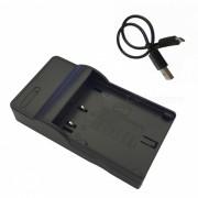 Ismartdigi Micro USB cargador de bateria de la camara movil para Panasonic