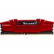 Memoria RAM G.Skill Ripjaws V DDR4, 2133MHz, 8GB, Non-ECC, CL17, Rojo