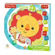 Baby fun puzzle (4mm vastag, keretes ) Oroszlán Fisher Price