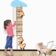 Stickere perete copii Monkeys - 60 x 182 cm