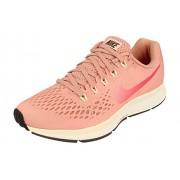 Nike Air Zoom Pegasus 35 Zapatillas de Correr para Mujer, Rust Pink Tropical Pink 606, 8 US