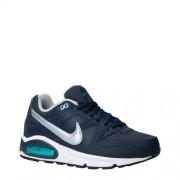 Nike Air Max Command leren sneakers blauw/zilver