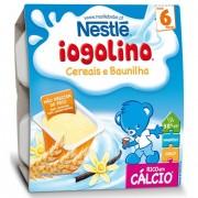 Nestle Iogolino gustare cu gris si lapte, 6 luni+, 4x100 g