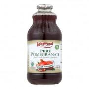 Lakewood Pure Organic Pomegranate - Pomegranate - Case of 12 - 32 Fl oz.