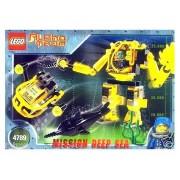 Lego Alpha Team Set #4789 Alpha Team Deep Sea Aquatic Mech Factory
