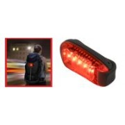 Home LED-es kerékpárlámpa, csiptetős (BV 15)