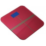 Rorian Personal Body Weight Machine Digital 8mm Toughened Glass SF180 Weighing Scale(Red)