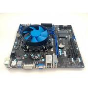 Placa de baza MSI B75MA-P45 + i5-2400 + cooler, LGA1155, 4 x DDR3, USB3.0, SATA3