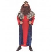 Disfraz de Rey Mago Capa Azul - Creaciones Llopis