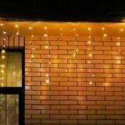 Instalatie de Craciun Flippy Tip Turturi cu Flash 4 m 132 LED-uri Interconectabila Alb Cald