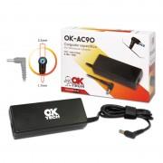 OkTech Ok-AC90 carregador específico para Portatil Acer 90W (19V 4.7 / 5,5 mm * 1. 7mm)