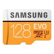 Samsung Micro SDcard 128GB EVO Up to 100MB/S,Class10,U3