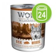 24x800g Gemengd Voordeelpakket Wolf of Wilderness Hondenvoer