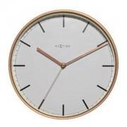 NeXtime Zegar ścienny Company 30 cm biały