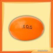 Oval gymnastic ball 55cm