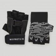 Myprotein Fitness rukavice - L - Černá