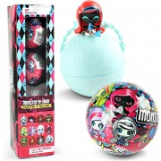 Figura De Dibujos Monster High E-Hot De 4 Piezas - Color Azar