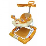 Oh Baby Baby 7 In 1 Function Duck Shape Musical Yellow Color Walker For Your Kids LAS-VDF-SE-W-17