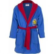 Minions fleece badjas blauw