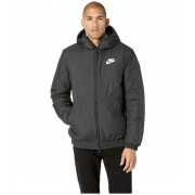 Nike NSW Synthetic Fill Jacket Hoodie BlackBlackBlackWhite