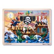 Puzzle lemn Aventura Piratilor
