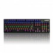 AJAZZ AK50 juego teclado mecanico 104-boton con luz de fondo - MX interruptor azul