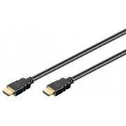 Cablu HDMI A tata la HDMI A tata ecranat cu ethernet 1.5m V1.4 contacte aurite