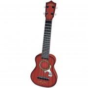 Juguete Del Ukelele 360DSC - Rojo