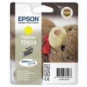 Epson T06144010 Tintapatron Stylus D68, D88, D88PE nyomtatókhoz, EPSON sárga, 8ml Eredeti kellékanyag