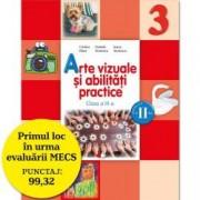 Arte vizuale si abilitati practice. Manual pentru clasa a III-a semestrul II contine editie digitala