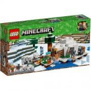 Set de constructie LEGO Minecraft Iglu Polar